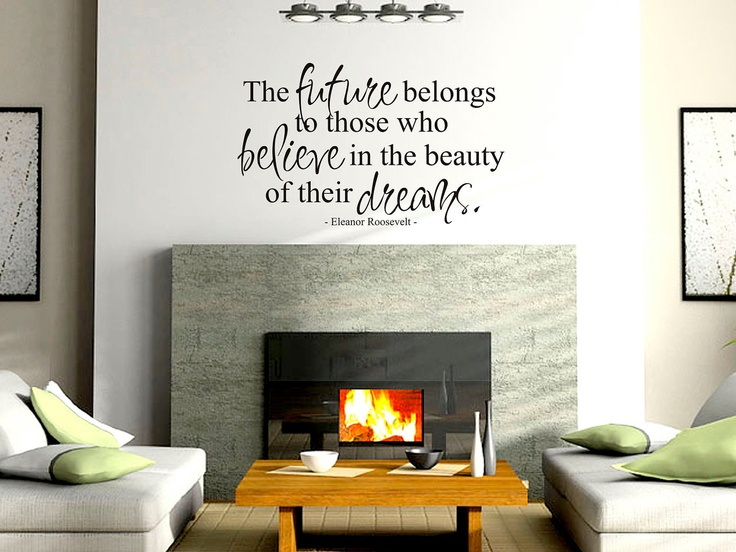 All Our Dreams Can Come True   Vinyl Wall Decal Part 62