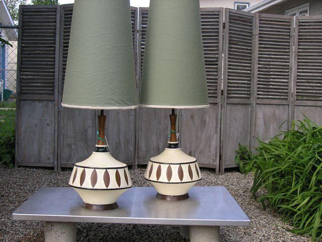 vintage retro table lamps