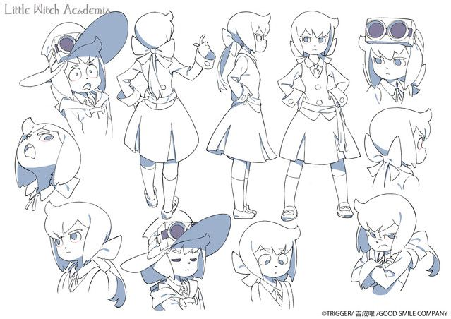 Little Witch Academia sequel! The Enchanted Parade (Here's new character Constanze Braunschbank Albrechtsberger)