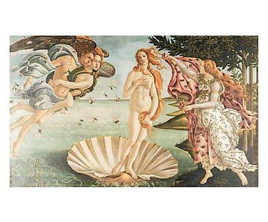 Tappeto multiuso digitale Nascita di Venere Botticelli