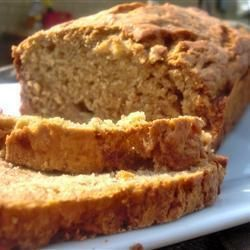 Easy banana cake - Allrecipies.co.uk  Make two and freeze one - really easy. Fuzzy daughter had 2 slices at first sitting!!