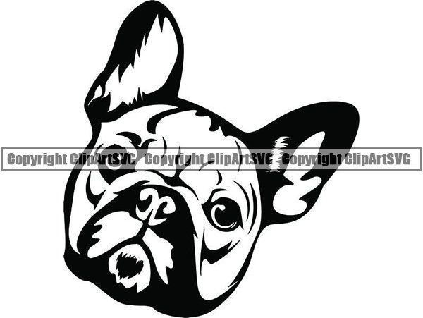 French Bulldog 25 Happy Smiling Dog Breed K 9 Animal Pet Etsy Smiling Dogs Photoshop Backgrounds Dog Decals