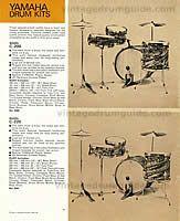 Vintage Yamaha Drum History - Yamaha Drum Company - Yamaha Drum Company History