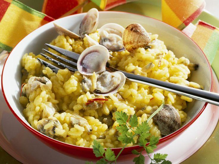 Risotto Milanese mit Venusmuscheln - smarter - Zeit: 30 Min. | eatsmarter.de