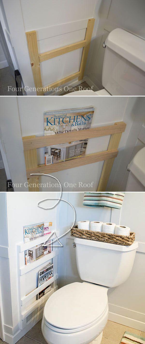 27 Farmhouse Inspired Bathroom Storage