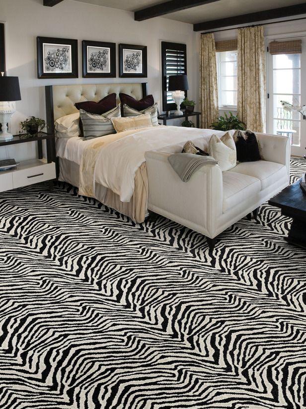 Zebra Carpet!!! Animal Print BedroomZebra ...