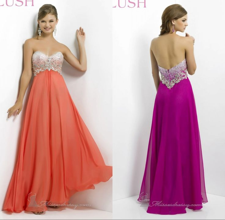 2014 Freen Shiping Floor Length Appliques Sleeveless Empire Chiffon Prom Dresses Celebrity Dresses Cheap Dress Sweetheart Dress