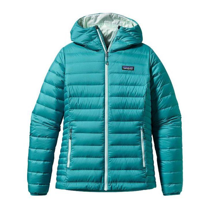 279$ Patagonia Women\'s Down Sweater Hoody - Tobago Blue TBGB