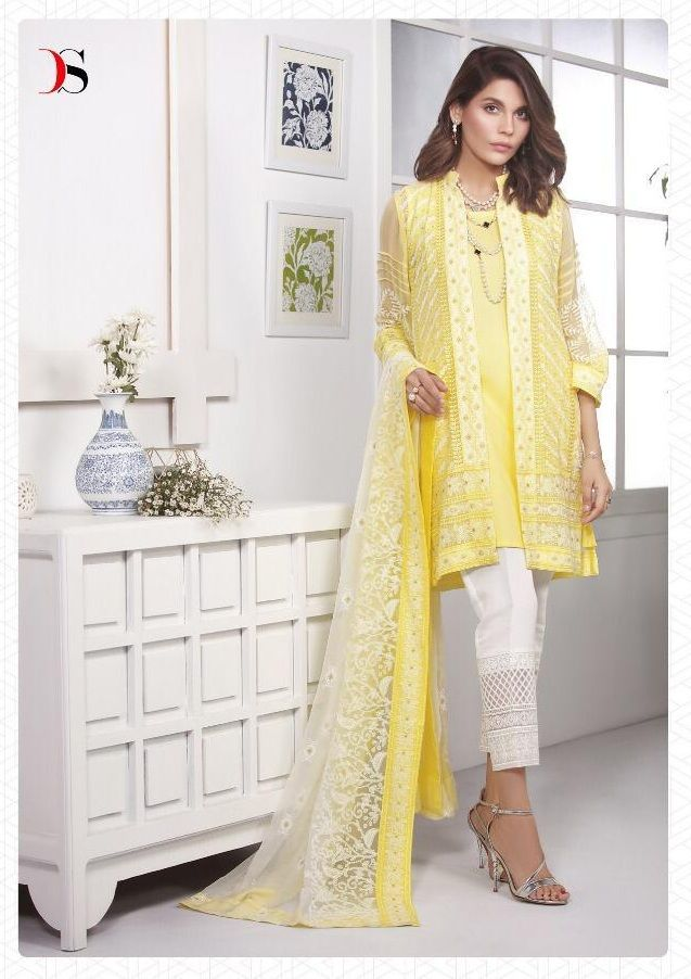 55c99c6591 Deepsy Marks 3 Georgette With Heavy Embroidey Suit 500-001 ...