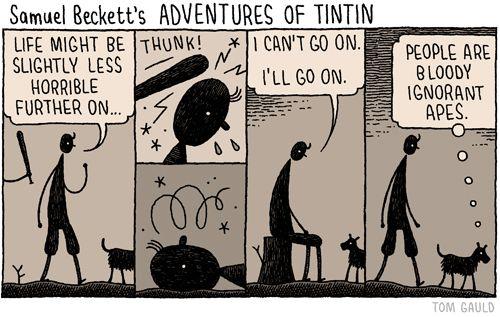 Samuel Beckett's Tintin