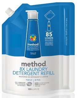 Method Laundry Detergent Refill in Fresh Air $22.49 - from Well.ca