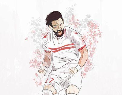 "Check out new work on my @Behance portfolio: ""Zamalek Sc players""…"