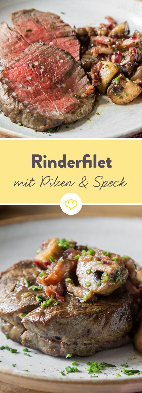 Rinder-Filet mit Rotwein-Vinaigrette                                                                                                                                                                                 Mehr