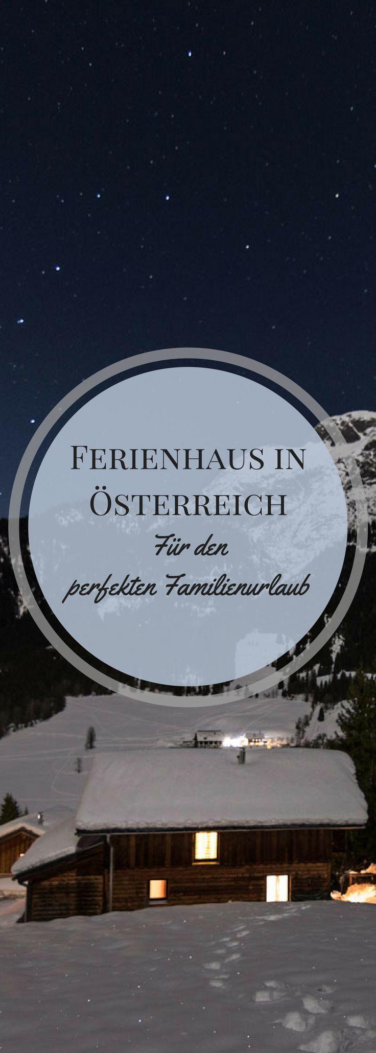 Dein perfekter Familienurlaub in einer idyllisch gelegenen Ferienhütte in Österreich. Schau doch gleich mal vorbei!