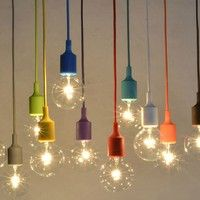 Item description: Colorful Pendant Lights Long: 1 Meter (Also we can do any meters as you want,but n