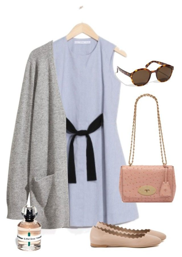 Untitled #135 by juliegodsknielsen on Polyvore featuring H&M, Chloé and Mulberry