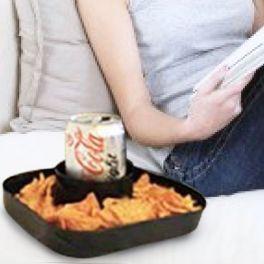 Suporte Couch Buddy para Bebidas e Snacks