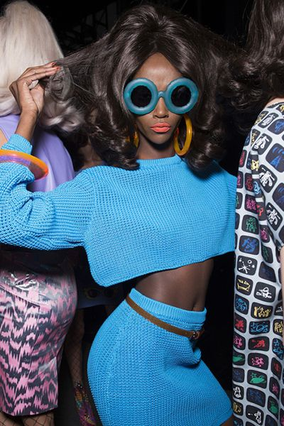 HIGH END FASHION | Jeremy Scott. Exquisite Opticals. Linda Farrow. SS16…