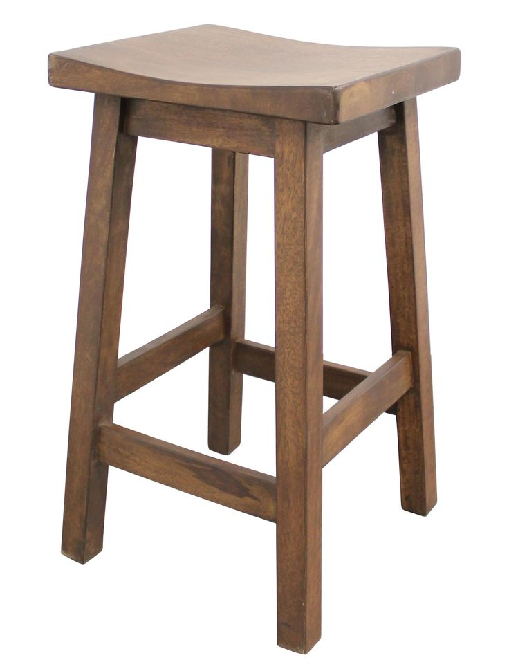 The Patriot - Wooden Bar Stool | Wayfair Australia