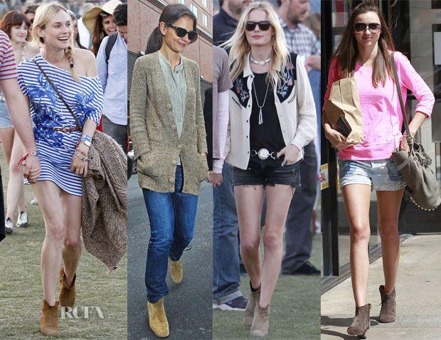 Celebrities Love Isabel Marant 'Dicker' Boots