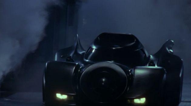 1989 Batmobile as seen in BATMAN trailer