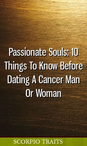 10 dingen om te weten over Dating a Cancer Dating Italiaanse man