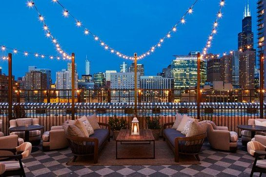 What a view! Soho House Opens Industrial-Chic Chicago Outpost