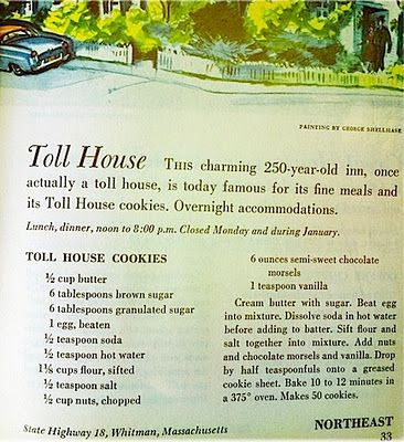 CRISP chocolate cookies, THE original Toll House coookie recipe originally called for a bit of water! MMMMMM (I don't like the soft chewy choc. chip cookies)
