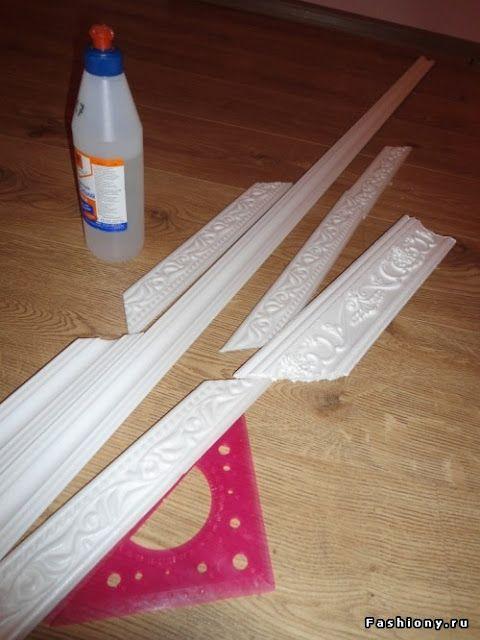 Φτιάξτε κορνίζες - Γκαλερί Τοίχου με Γύψινα πηχάκια! | Φτιάξτο μόνος σου - Κατασκευές DIY - Do it yourself