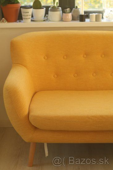 8ebf9117e Inzerát č. 91363243: Žltý vintage gauč, Cena: 300 €, Lokalita ...