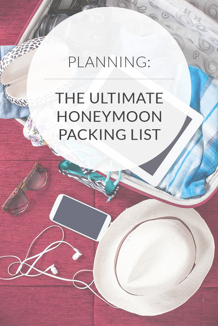 The Ultimate Honeymoon Packing List & Free PDF