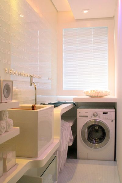 Zona de ropas cortinas y persiana d lacuesta pinterest - Zona lavanderia ...