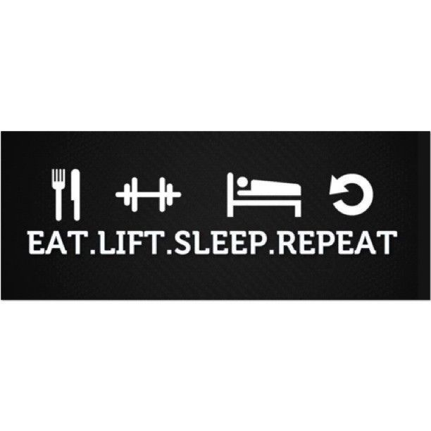 Road Side Eat Sleep Sign