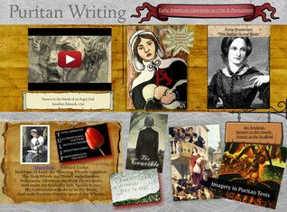 lessons from the puritans essay Genres early literature written by puritans in america often appeared as first person narratives in the form of journals and diaries early american colonists wrote.
