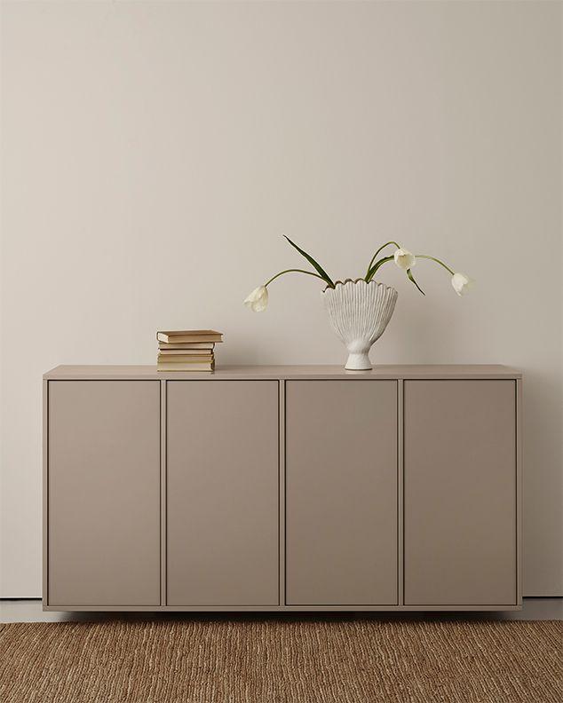 A S Helsing 246 Ingar 214 Sideboard Built On Ikea Metod Cabinet Frame Color Linen Brown F 246 Rvaring