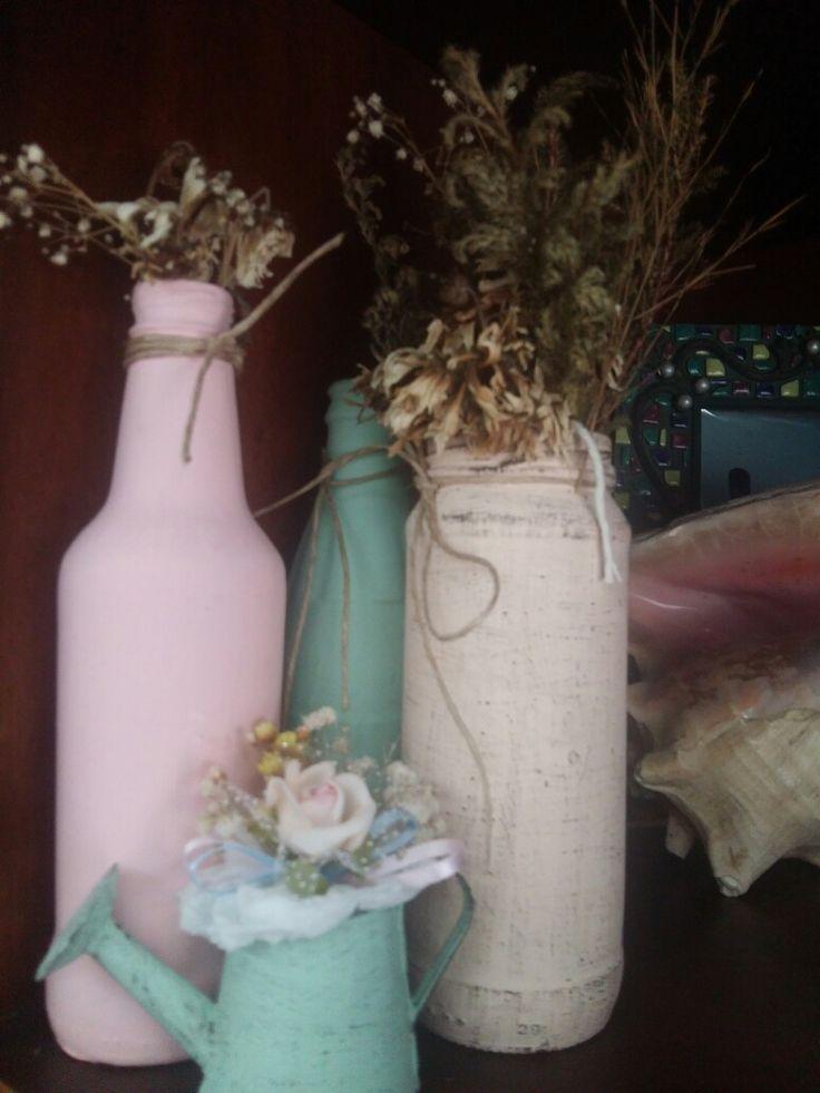 Lixinhos  que viram decoração