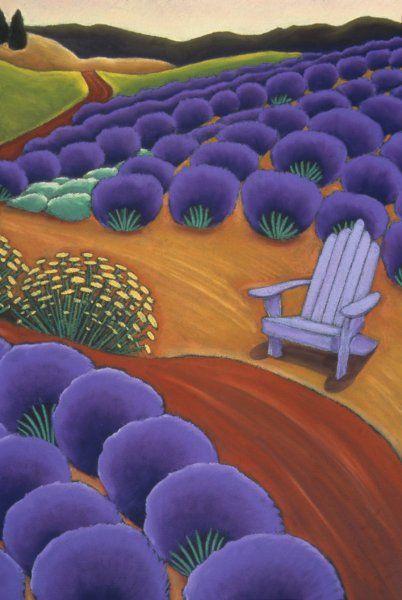 Oregon Landscapes: Portfolio of Past Images | Jane Aukshunas Oil pastel on paper