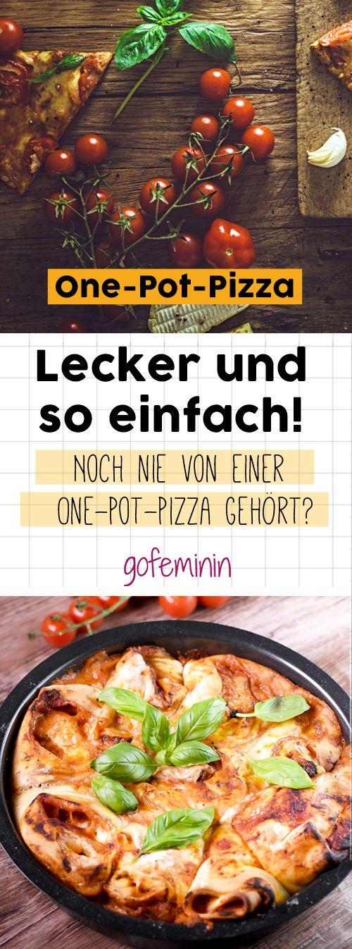 Noch nie von einer One-Pot-Pizza gehört? Hier ist das Rezept!