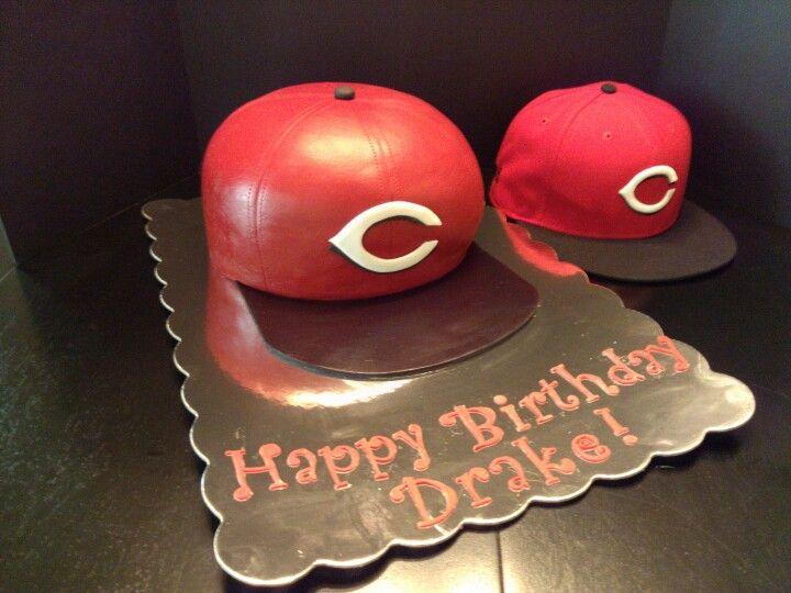 Cincinnati Reds Cake