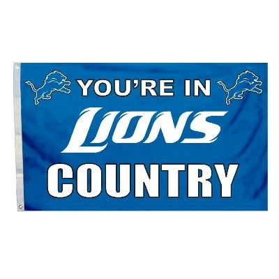 In Country Flag - Detroit Lions