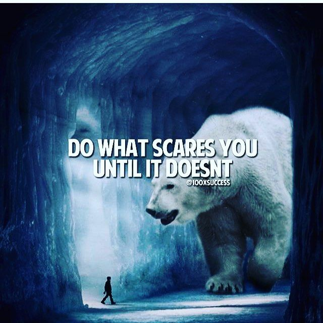 What is stopping you from moving forward towards what you truly want? Face your fear and make decisions from where you want to be, not from where you are at :-) #CEOofYourLife #FaceYourFears