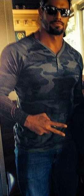 Roman Reigns. It should be illegal to be this hot. On second thought....thank goodness it isn't.