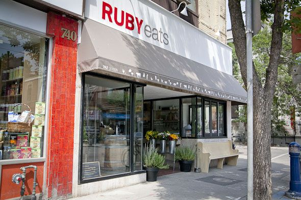 Ruby Eats a fabulous find in Toronto owed/operated by Chef Lynn Crawford