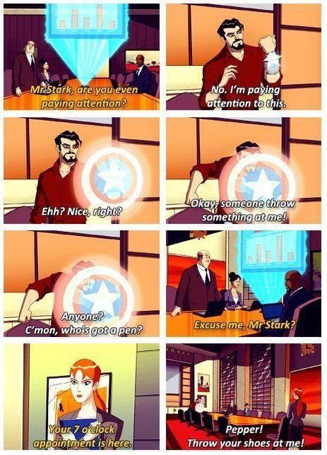 Tony Stark is at it again…