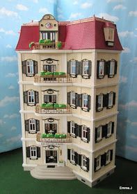 Nearly six years ago now I created the Bistro De Paris from the Playmobil 5302 new mansion. Although a simple build it has always been one o...