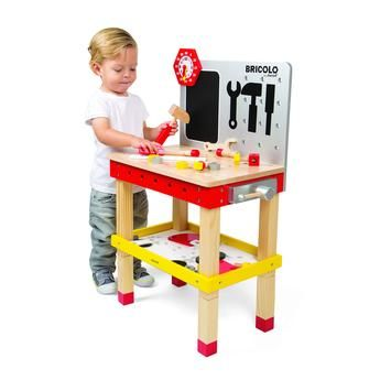 Janod Toy- Diy Giant Magnetic Workbench JAN06492