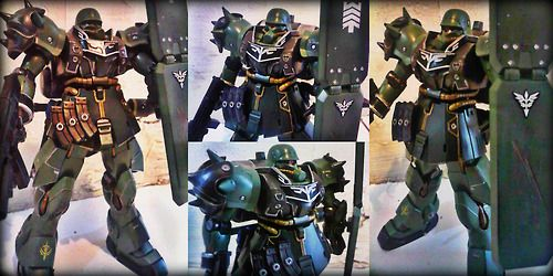 HGUC 1/144 AMS-129 a.k.a. Geara Zulu (Guards Type)