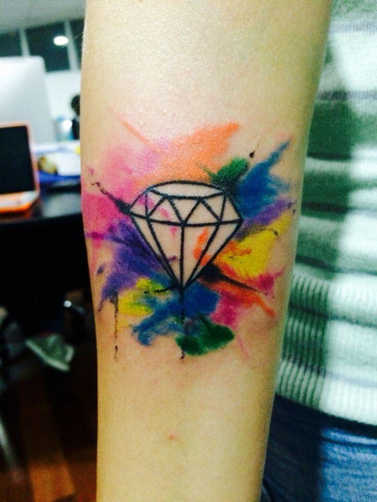 Resultado de imagem para tatuaje acuarela