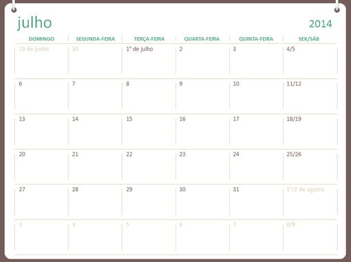 Calendário acadêmico de 2015 (janeiro-dezembro)