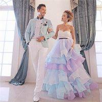 ウエディングドレス二次会カラードレスロングドレスベアトップハートネックプリンセスラインaラインブライダルイベント花嫁結婚式痩せっぽいチュールレーススパンコール